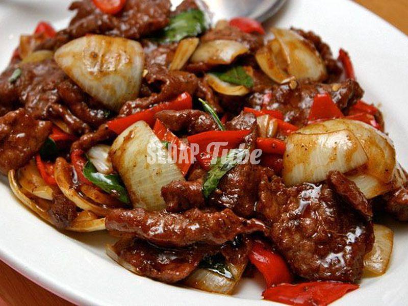 Resepi Daging Masak Black Pepper   Sedap Tube   Resepi ...