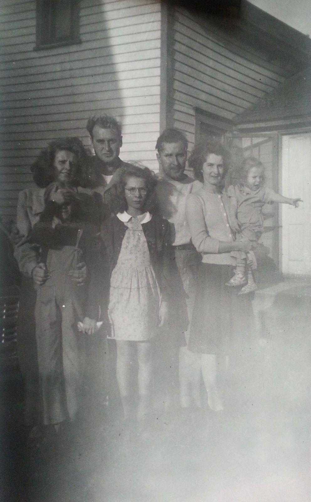 Family portrait  Ca. 1940's