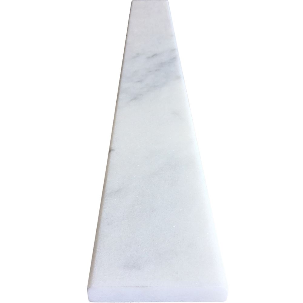 4 X 24 Saddle Threshold White Marble Stone White Marble Marble Stones Door Saddle