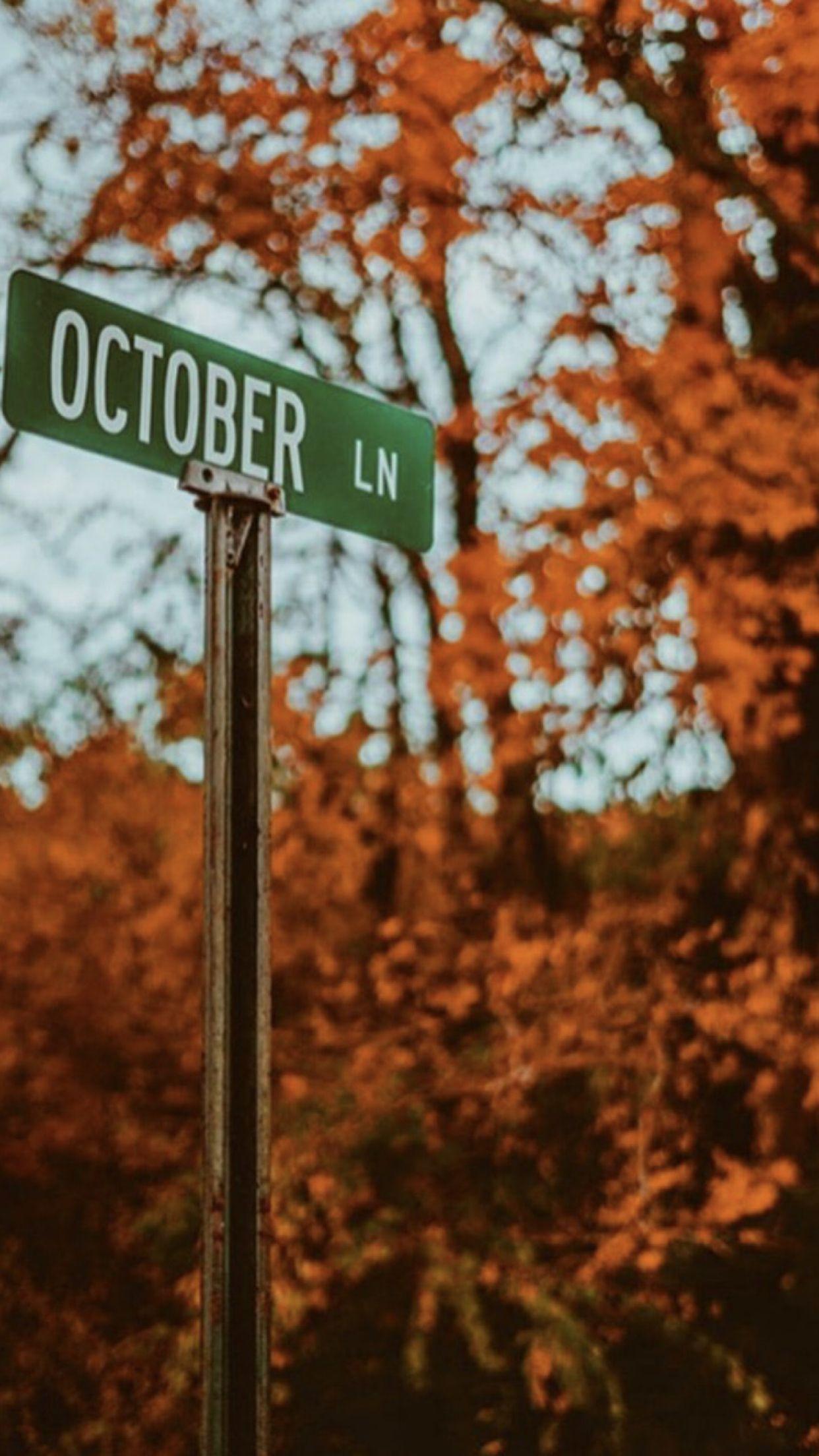 October Aesthetic