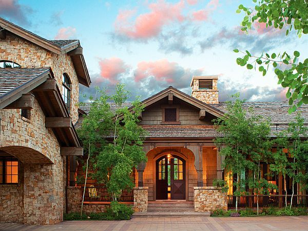 Summer mountain home in Vail Valley #mountainhomes