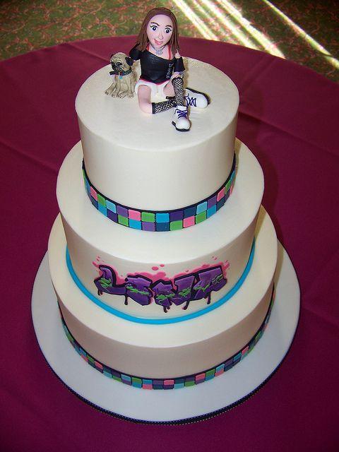 Erin Salerno | Bat mitzvah, Bar mitzvah, Beautiful cakes