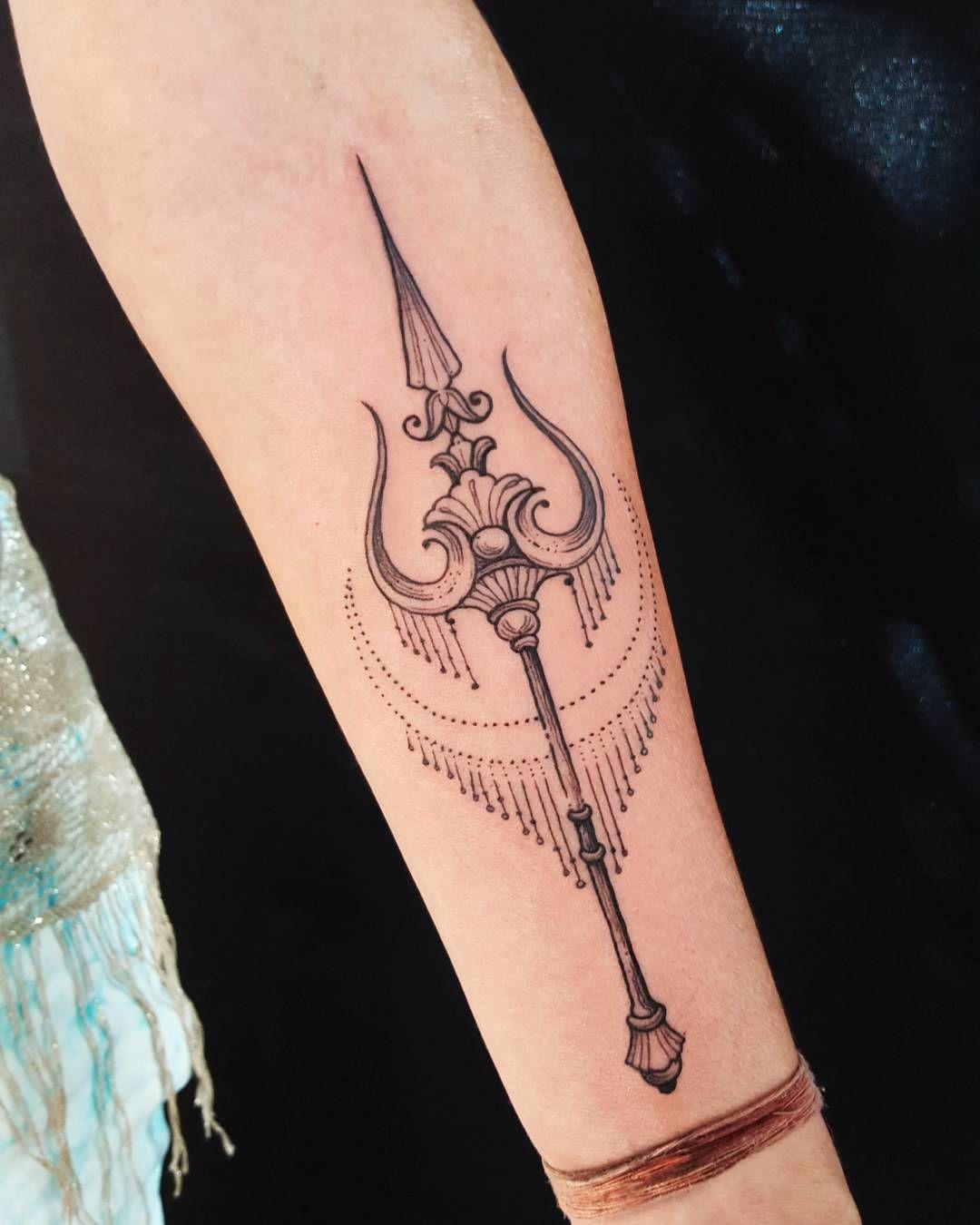 Trishula de Shiva. by briangomes Shiva tattoo design