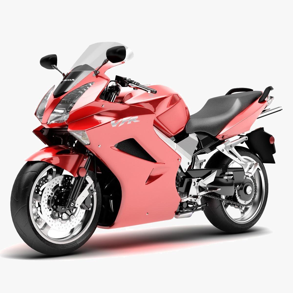 Motorcycle Honda VFR 800 3D Model AD ,HondaMotorcycle