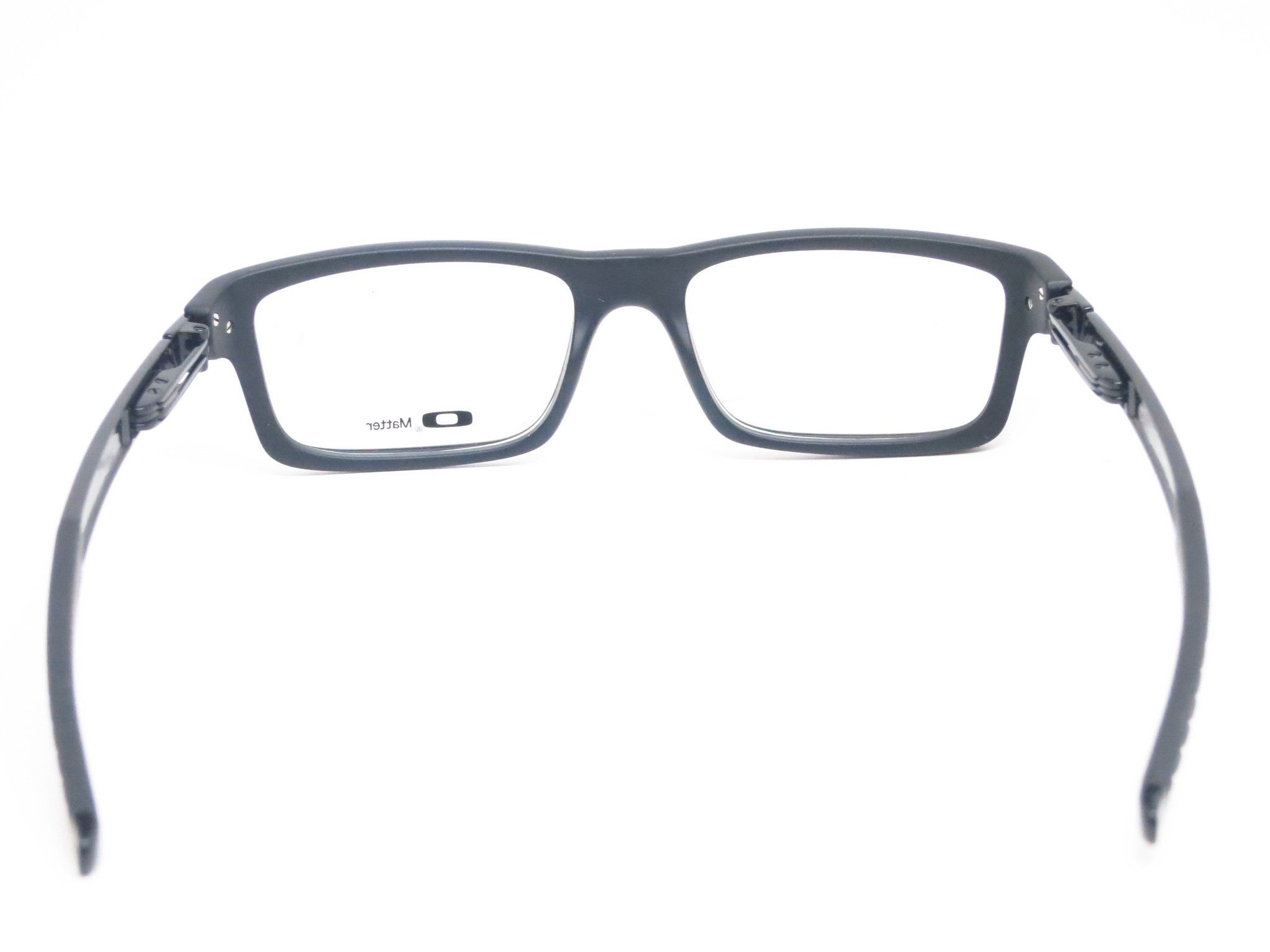 35628ef52fa1d Features of the Oakley Currency Eyeglasses - Engineered of light weight O  Matter material front