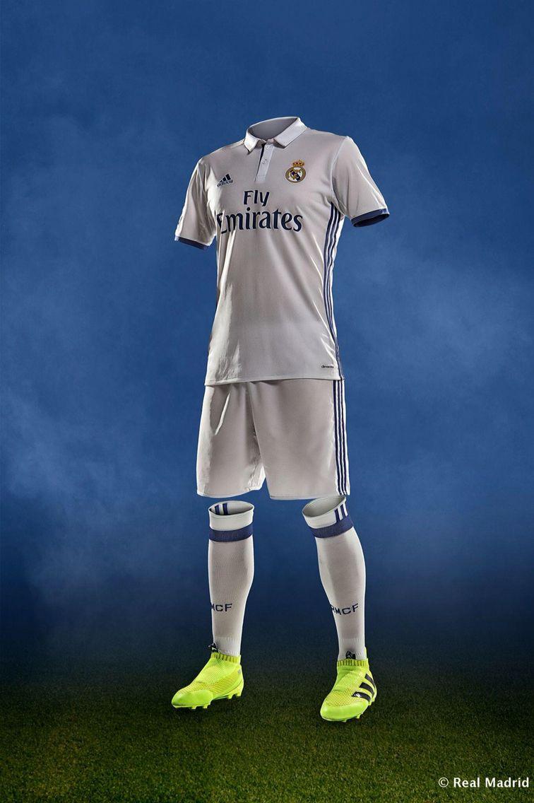 Real Madrid 2016 2017 Home Kit Real Madrid Kit Real Madrid Real Madrid Football