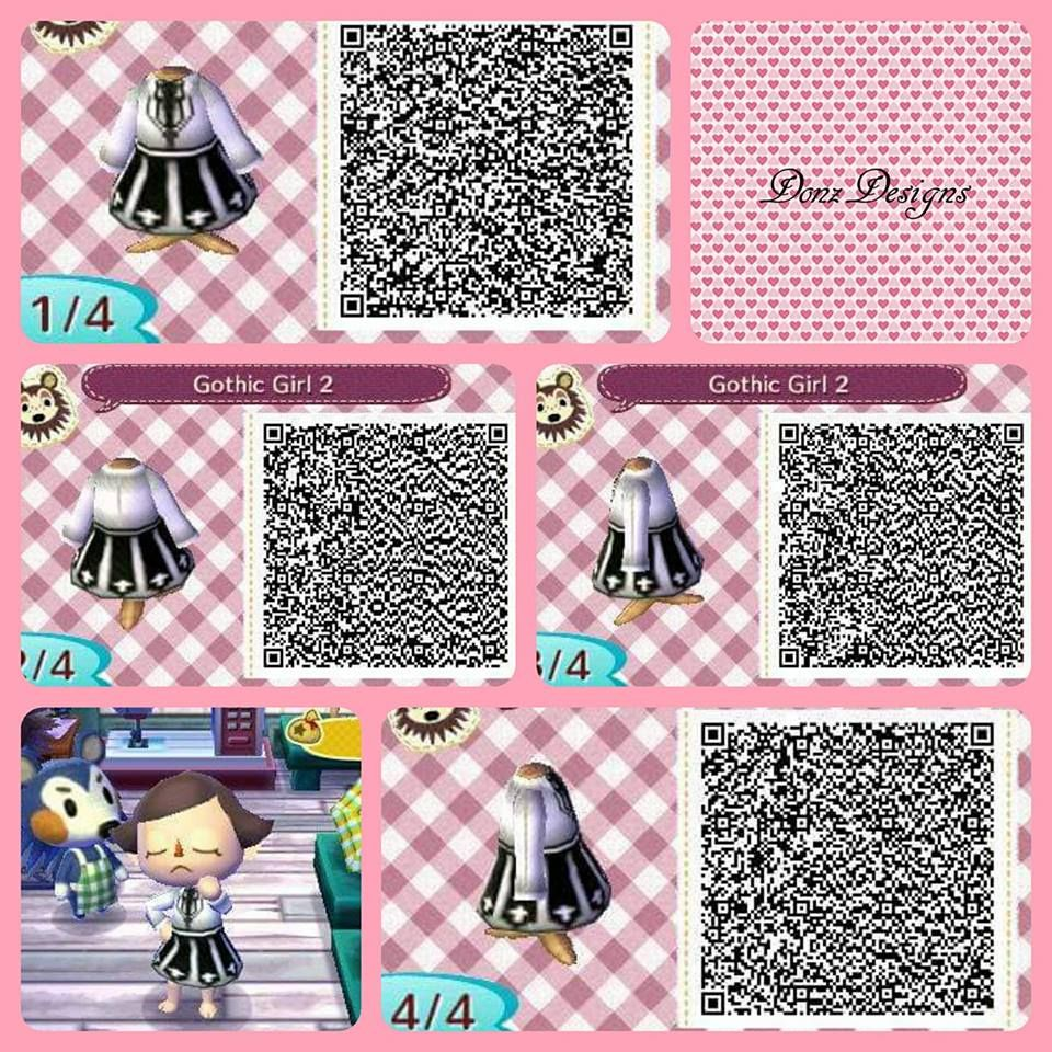 Gothic Girl 2 By Donzdesigns Animal Crossing Qr Codes Animal
