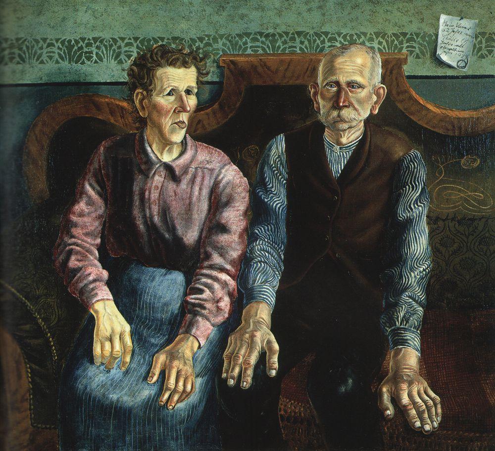 Otto Dix Portrait Of The Artist S Parents Ii Miss Folly Artist Art Picasso Portraits