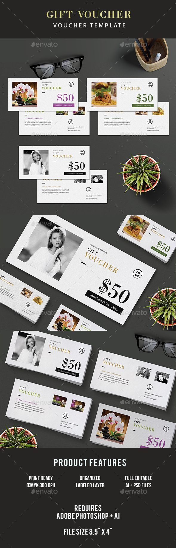 Pin By Best Graphic Design On Gift Voucher Templates Pinterest
