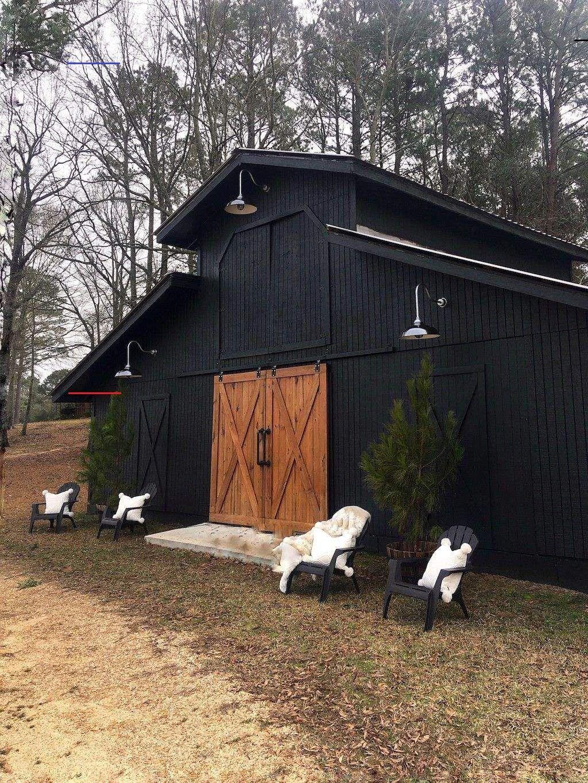 Pin By Pires On Weiland In 2020 Black Barn Barn Lighting Modern Barn