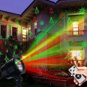 Top 10 Best Laser Light Projectors In 2020 Reviews Hanging Christmas Lights Landscape Spotlights Laser Lights
