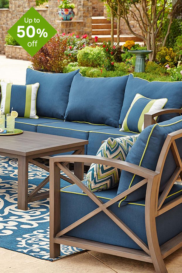 perk up your summer bbqs and save big on patio furniture