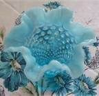 Blue opalesent