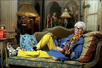 Iris Apfel, un referente de la moda http://bit.ly/INKSvn