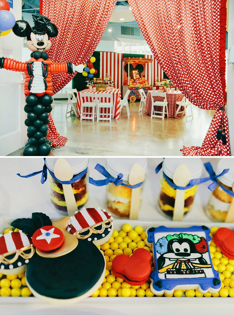 Dazzling Mickey Amp Minnie Circus Birthday Party 3rd