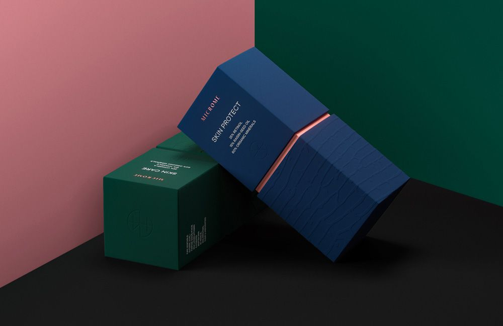 Microme cosmetics — Brand concept #FB_Agency #Package #Design #Luxury #Cosmetics #Woman #Organic #Дизайн #Упаковки #Косметика