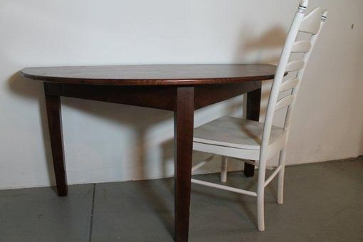 Counter Height Half Round Table Dining Table Makeover Circle