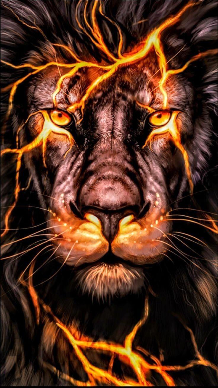 Lion Leo Fire Flame Digital Artwork Lion Live Wallpaper Lion Wallpaper Lion Pictures Fire lion wallpaper hd download