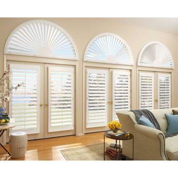 Costco custom shutters through in home design service by - Hunter douglas interior shutters ...