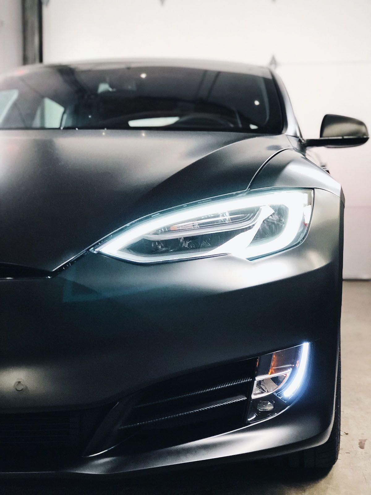 Car Wrap Vancouver Tesla Model S in 2020 Tesla model s