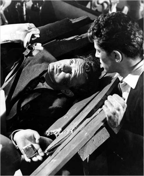 Extraños en un tren : foto Alfred Hitchcock, Farley Granger, Robert Walker