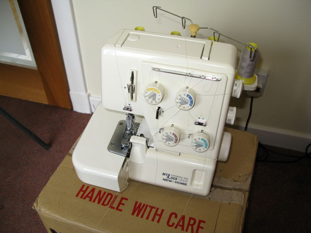 My first overlocker was bought in the mid 1990s. It is a New Home MyLock