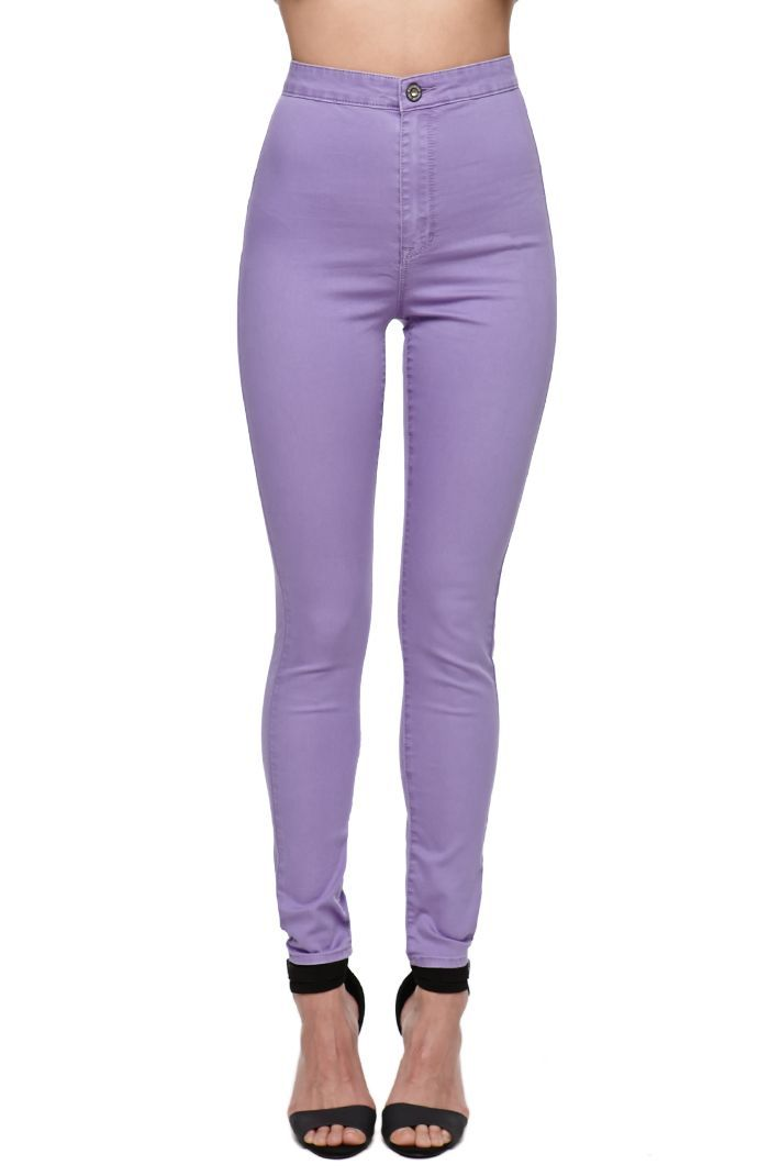 PacSun High Rise Lavender Jeans | High Waisted Pants   Jeans ...