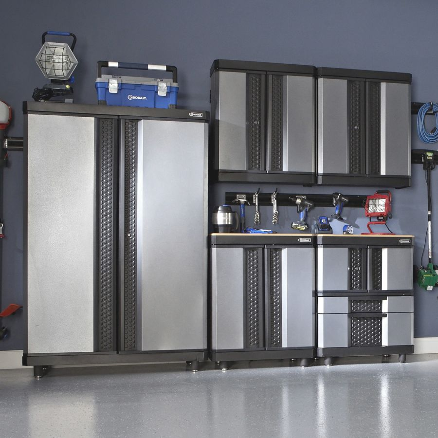 Shop Kobalt 38 In H X 30 In W X 20 In D Metal Multipurpose Cabinet