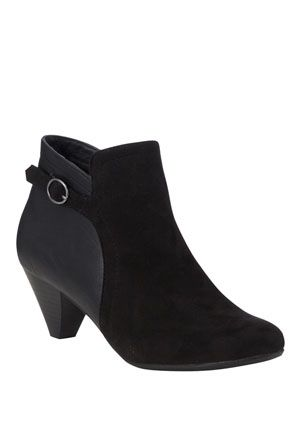 F&F Buckle Detail Shoe Boots - £15