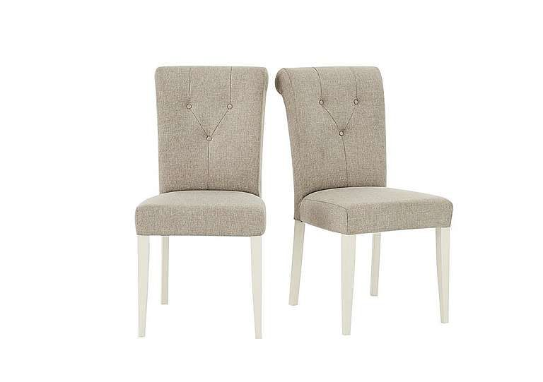 Furniture Village Annecy Pair Of Upholstered Dining Chairs Elegant  Upholstered Dining Chairs Solid Beech Frames Gently