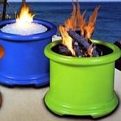 Beautiful Island Series Gas Fire Pit   COC FP