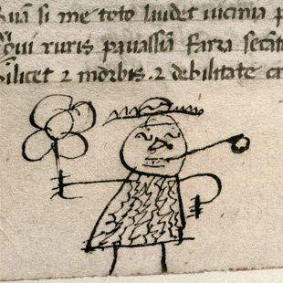 Medieval Book Historian Erik Kwakkel Discovers and Catalogs 800-Year-Old Doodles in Some of the World's Oldest Books