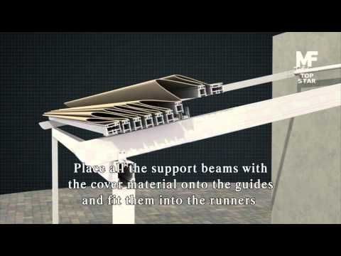 Retractable Roof Pergola Top Star Installation Retractable Pergola Pergola With Roof Retractable Roof