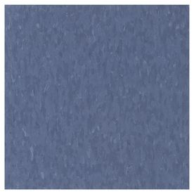 Armstrong�12-In x 12-In Serene Blue Chip Pattern Commercial Vinyl Tile