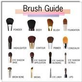 Photo of Brush guide www.youtube.com/BeautyBlog #MakeupOfTheDay #MakeupByMe #MakeupLife #…
