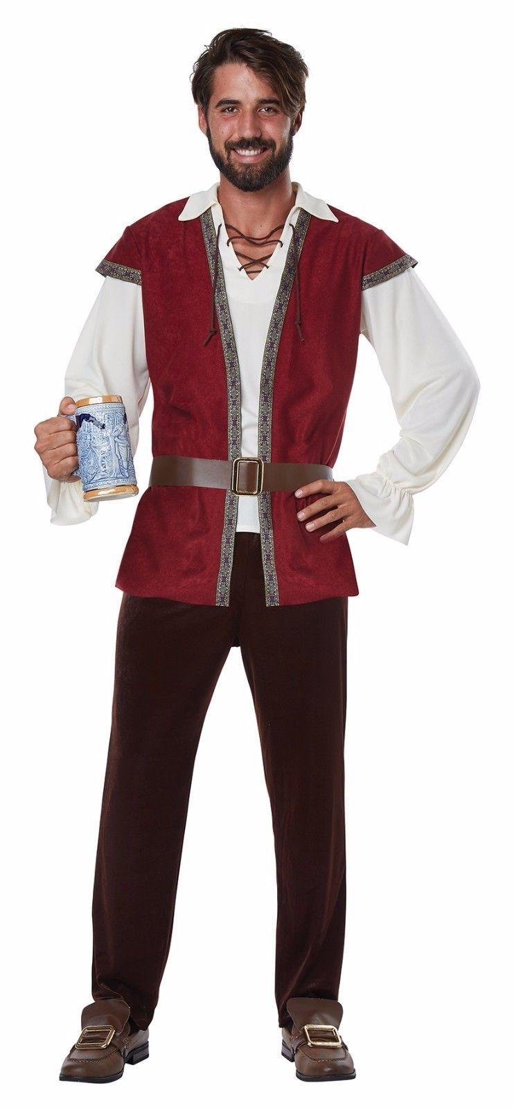 Medieval Man Tavern Renaissance Men Adult Costume