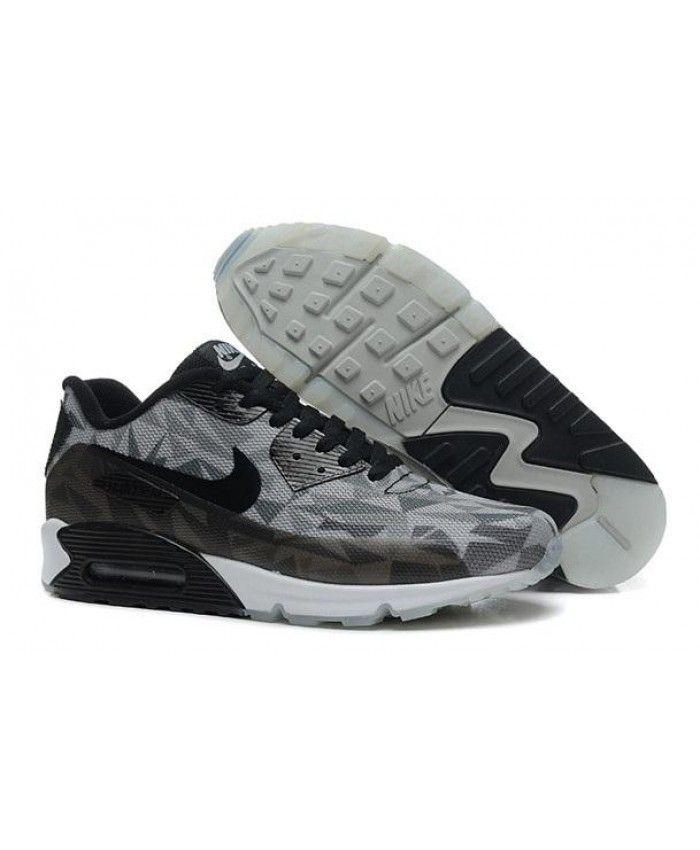 taille 40 b8a95 8497e Nike Air Max 90 Mens Hyperfuse Prm Anniversary Black Trainer ...