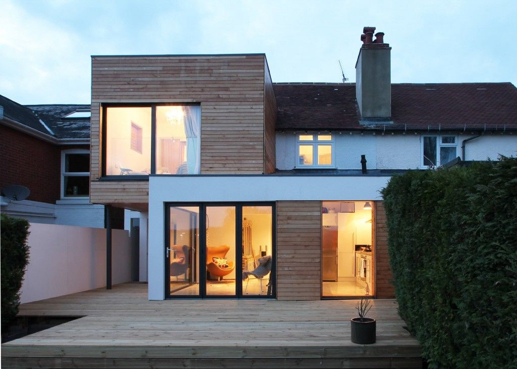 The Cube Adam Knibb Architects Riba Contemporary Hampshire Architects Winchester House Extension Design House Extensions Flat Roof Extension