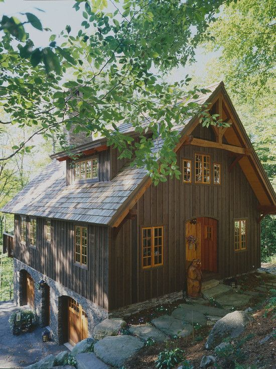 Cabin Designed By Timberpeg A National Timber Frame Company That