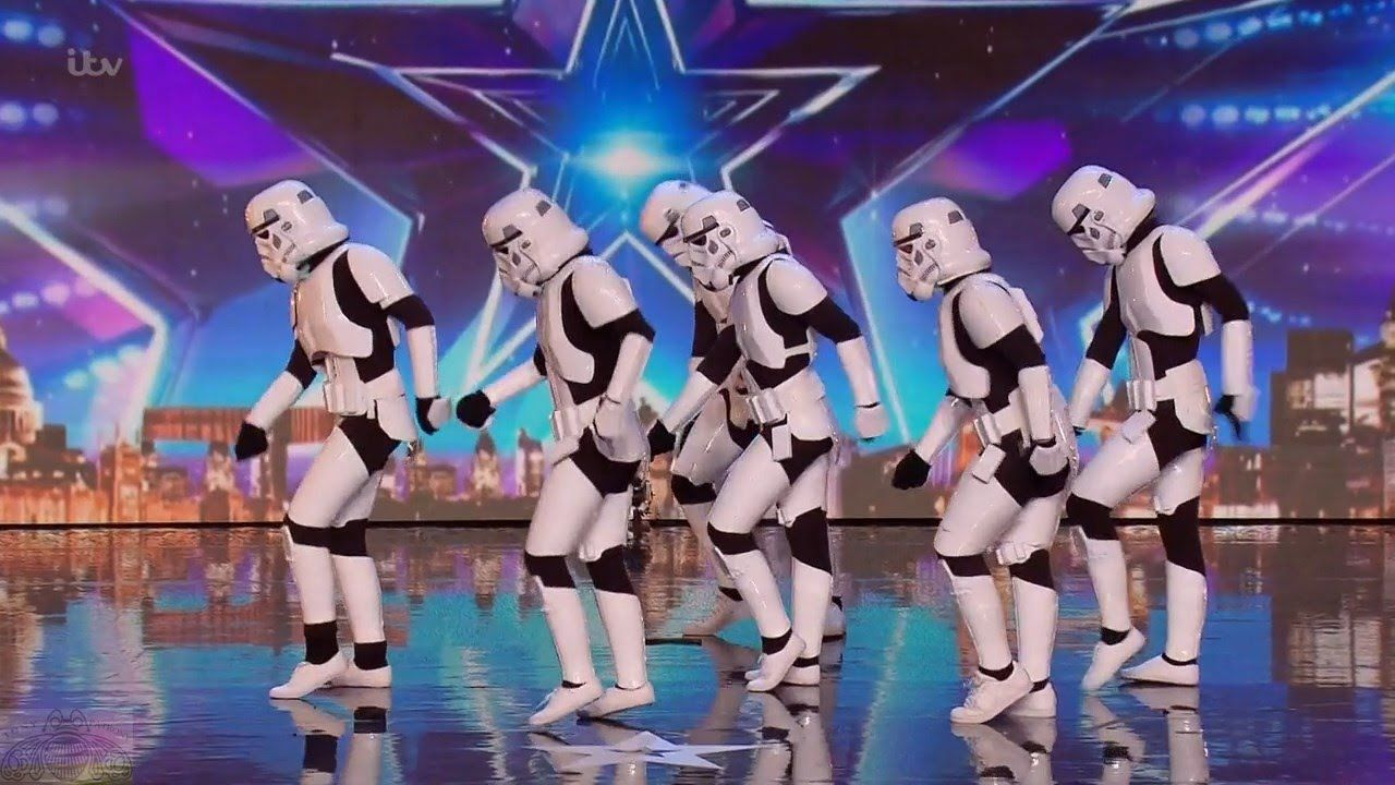 Britain's Got Talent 2016 S10E05 Boogie Storm Star Wars Inspired Cosplay...