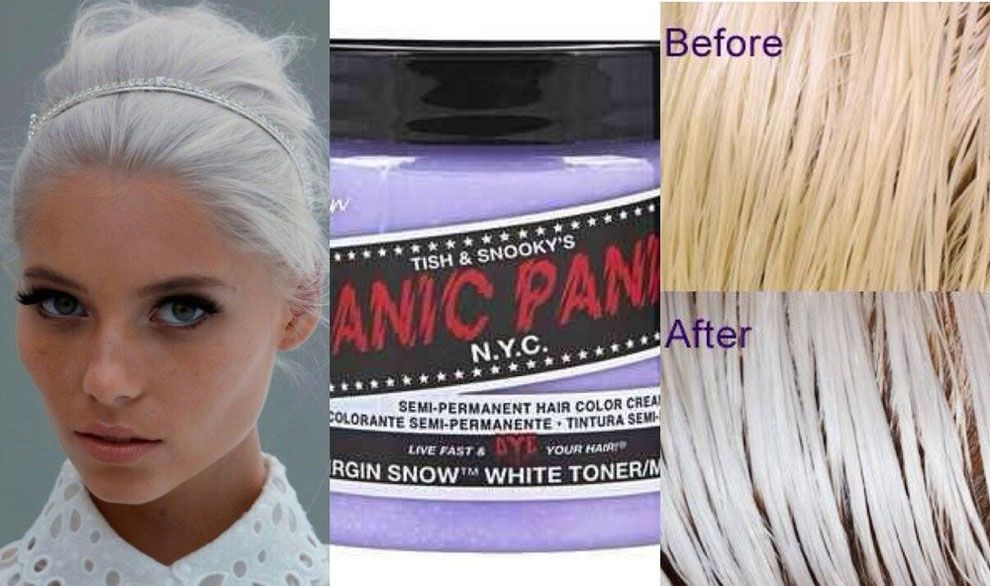 Review Manic Panic Virgin Snow Manic Panic Virgin Snow Snow