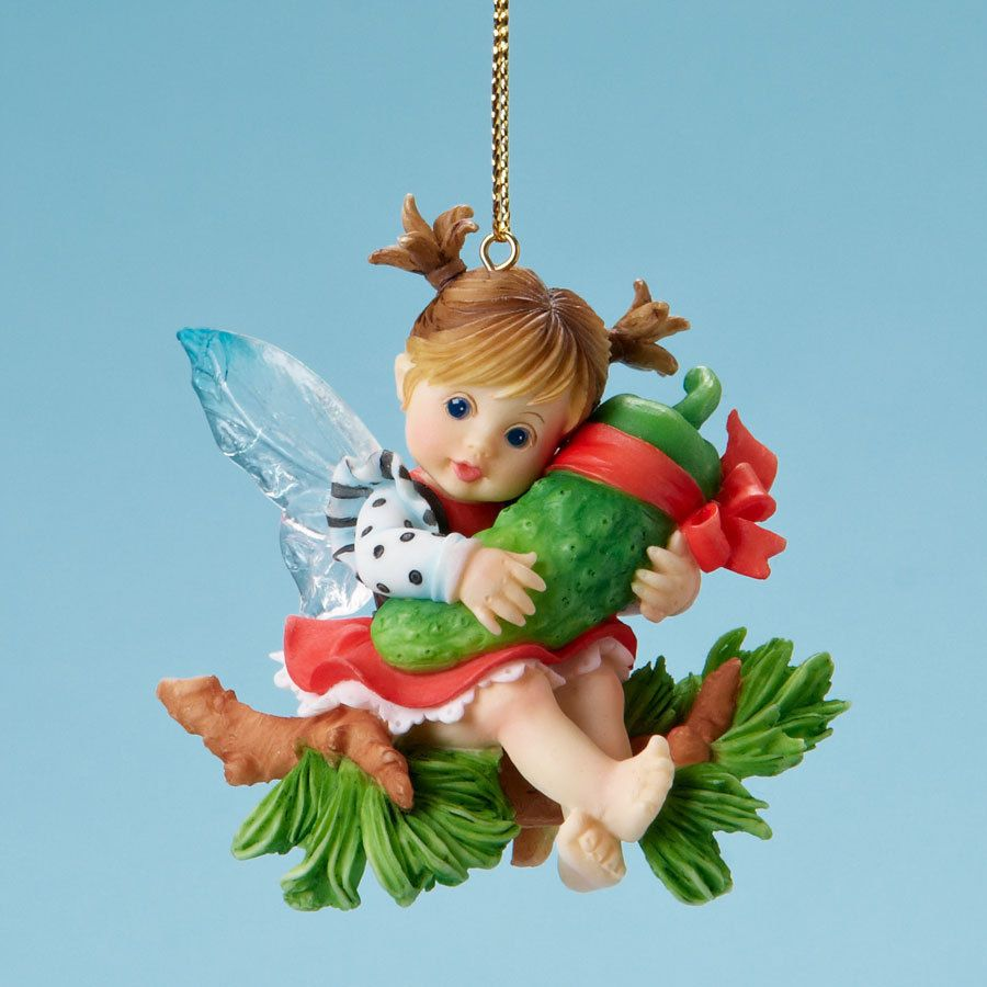My Little Kitchen Fairies \'Pickle Finder\', Christmas Ornament, New ...