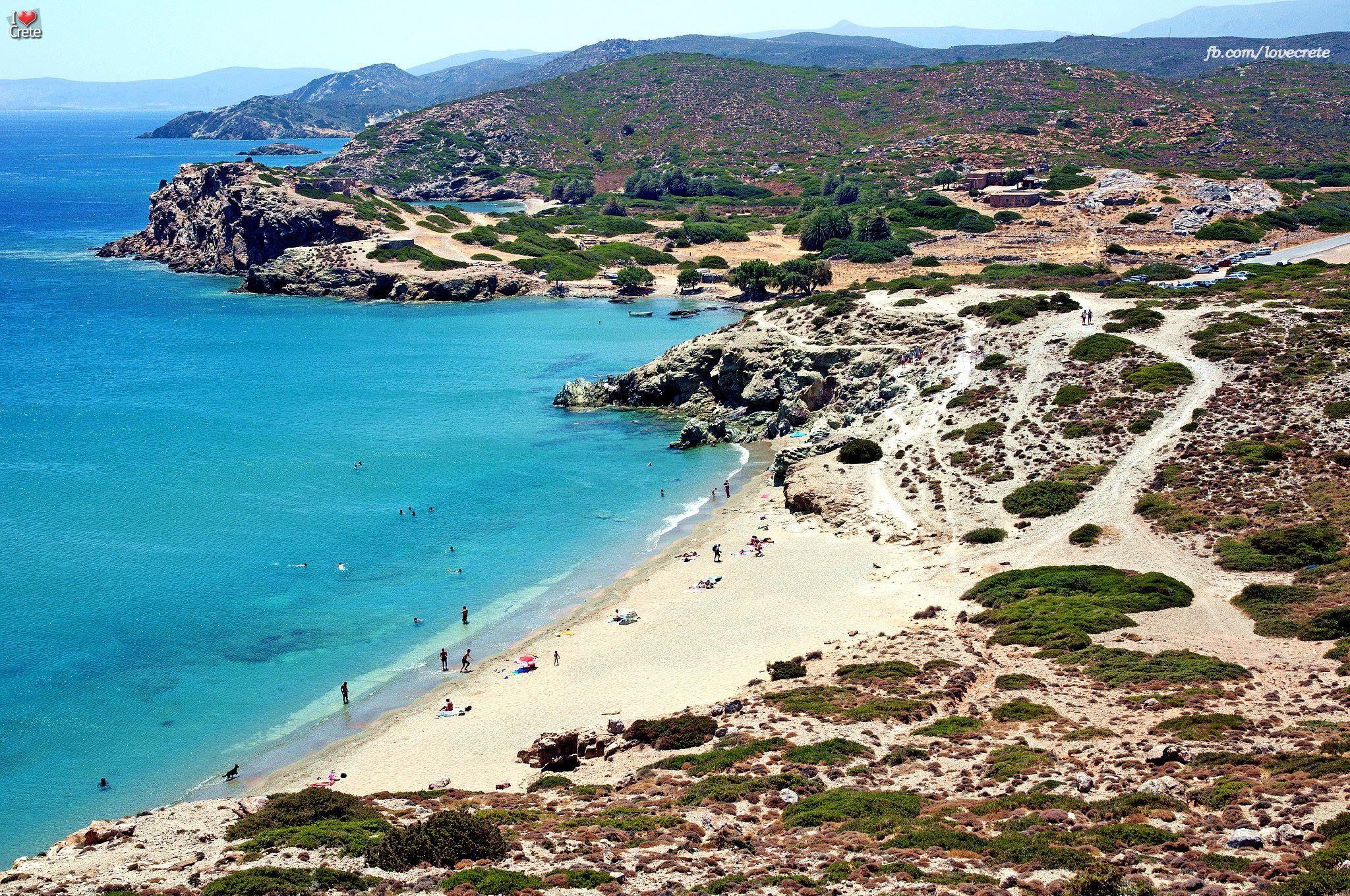 Kreta, Itanos Beach (Textil- und FKK-Strand) Photo from