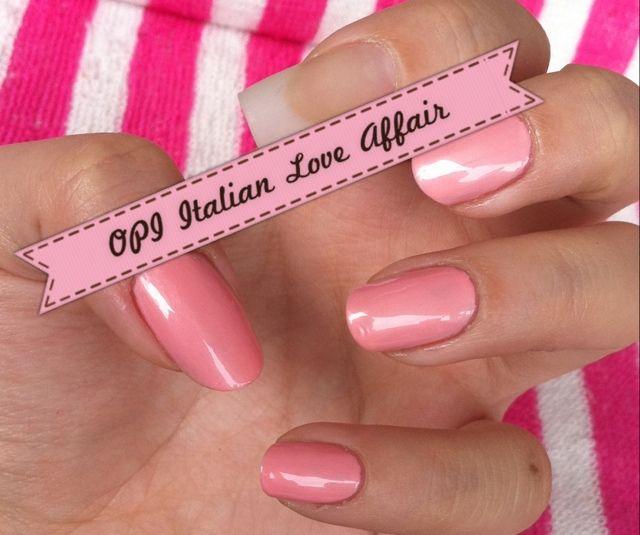 Opi Italian Love Affair Nail Lacquer