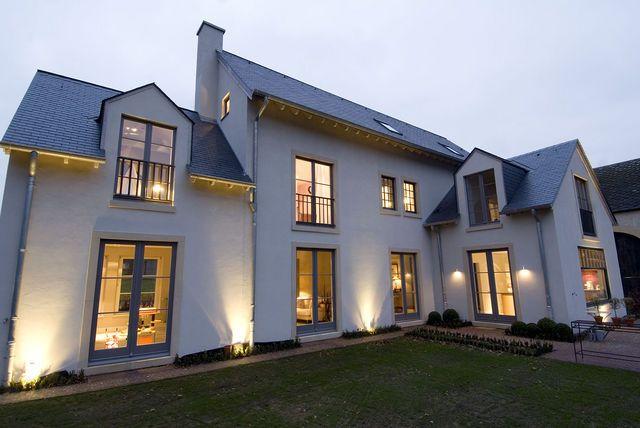 de Barsy \ Nikolov Architectes - Eischen  Construction du0027une maison