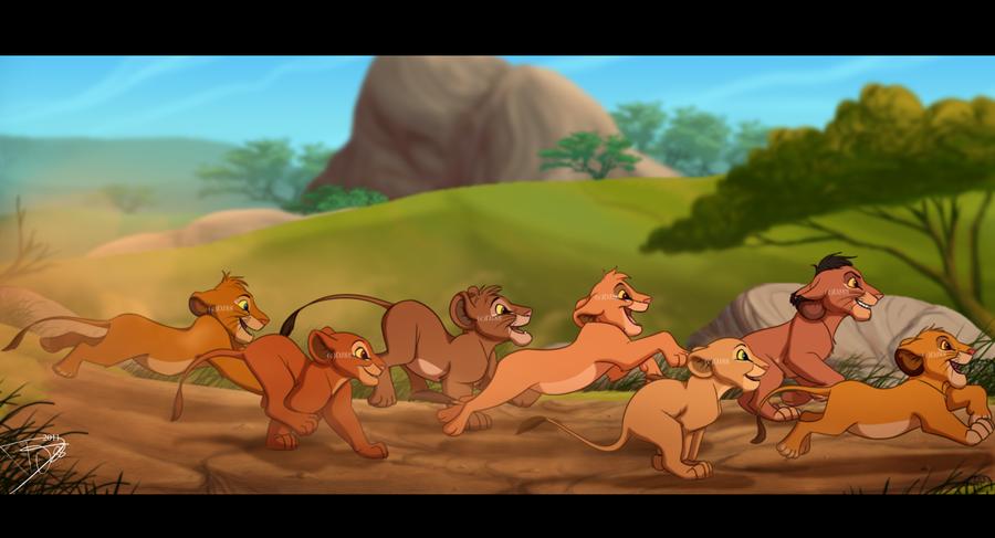 Tojo, Chumvi, Kula, Tama, Malka, Nala, Simba