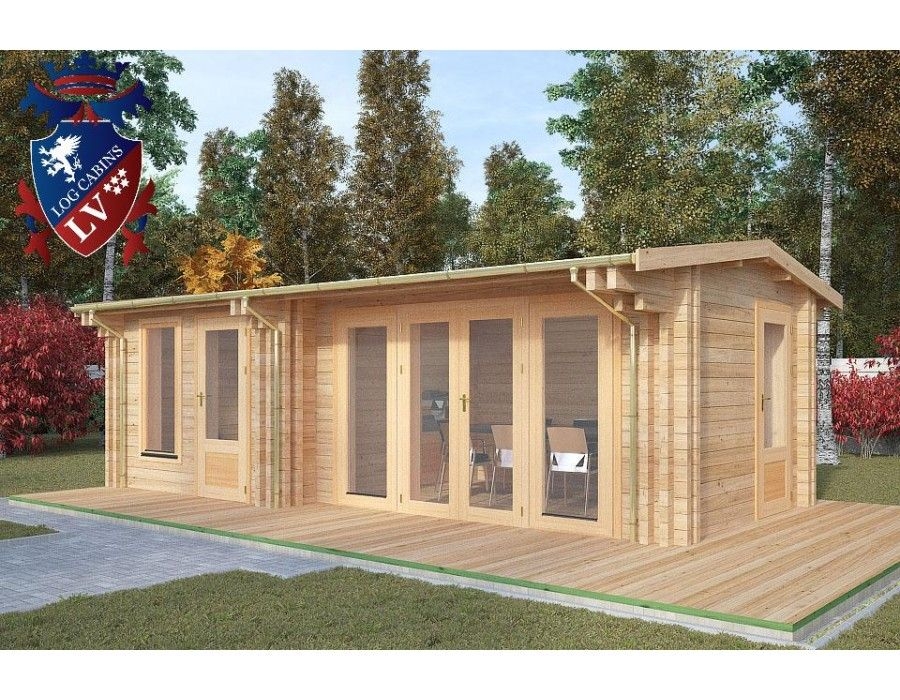 buildings contemporary cabins traditional delivery free cabin offices lodge grande garden log sided x mercia right corner