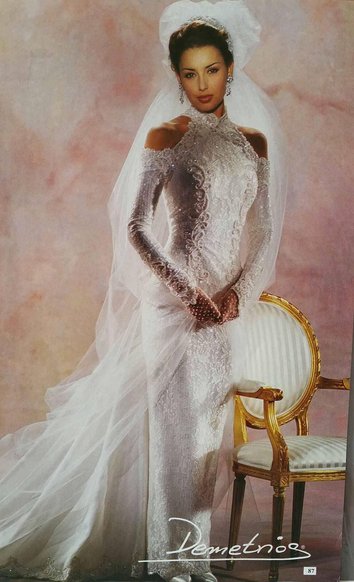 Demetrios dreams of being a bride pinterest