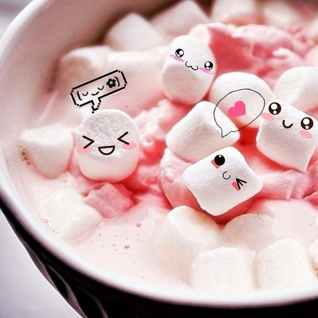 Pin By Estefan 231 On Candy Cute Marshmallows Kawaii Food Cute Wallpaper For Phone