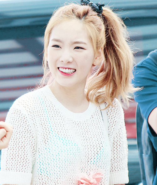 #Taeyeon #leader #SNSD #airport